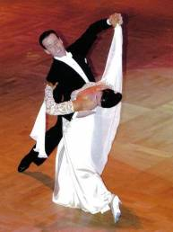 Anton & Erin at the British National Championships