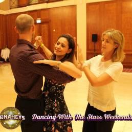 Erin Boag teaching at Donaheys